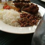 Nasi Lemak (a local dish must-try)
