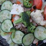 Large veggie plate