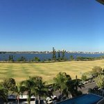Crowne Plaza Perth great view form the balcony