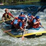 Whitewater rafting at Myllykoski