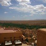 Blick von der Terrasse unseres Zimmers