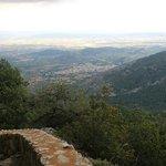 A good walk - view of Mallorca from Castel De Alaro