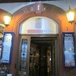 Entrance to Marktplatz Hotel