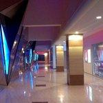 Blockbuster Cinemas hallway