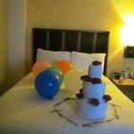 My birthday girls bed!