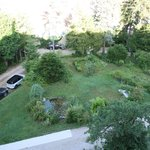 Jardin et parking privé