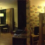 Nice family room, our room was facing street and hotel nearby