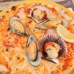 Pizza aux Fruits de Mer d'Avril 2014