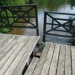Split bridge to nature trail