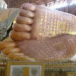 Die Fußsohlen des Buddhas!