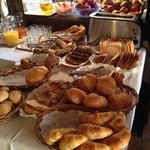 some of the yummy breakfast options