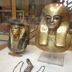 Máscara de ouro de Tutankhamon