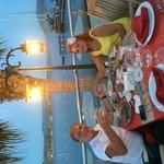 isis hotel - outside turkish restaurant