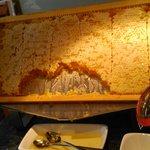 I enjoyed the breakfast, especially the real honeycomb