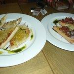 Mixed bruschetta
