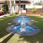 Fountain at Shikarbadi