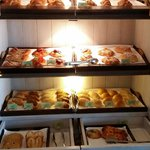 Breakfast pastry cupboard