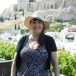 This is how close Athens Gate is to the Acropolis.. Never tired of the view from the roof