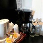 Coffeemaker provided