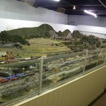 part of train layout