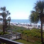 beach from Balcony of Savoy