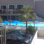 Pool photo from Savoy balcony