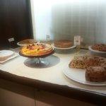 Selezione di torte e ciambelle