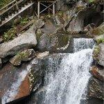 Many amazing waterfalls along the way