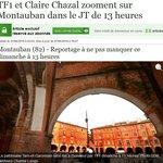 Montauban au JT 13h de Claire Chazal dimanche 29 juin 14. ARCHEODECO contribue...