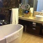 the calming bathroom