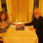 dessert at dinner for two