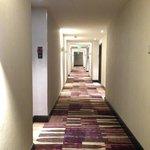 Hallway on the 8th floor