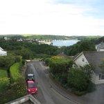 La super vue sur la baie de St Mawes, depuis la chambre :-)
