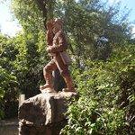 David Livingstone Statue, Victoria Falls, Zambia