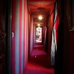 couloir d'acces chambres