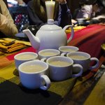 Indian milk tea