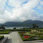 Vista sul lago dall'hotel