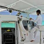 Cap Lagoon Catamaran Sail, Bora Bora, French Polynesia