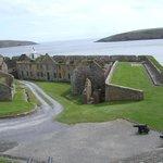Charles Fort Walls