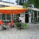 Restaurant De Kunsthal met terras
