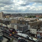 996 west view. That's the edgware tube station on the right (red brick).