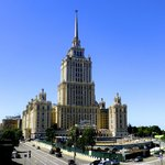 The Hotel. One of The Seven Sisters of Moscow