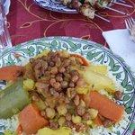 Couscous di verdure e pollo