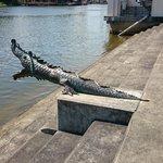 croc statues