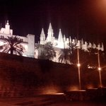 собор ночью