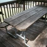 picnic table/deck for SC 10