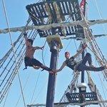 Pirate ship animation team