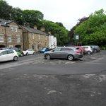 Hotel & car park opposite