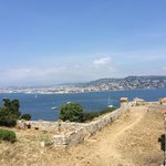 Santa Margarita, view to Cannes