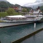Old Paddle steamer
